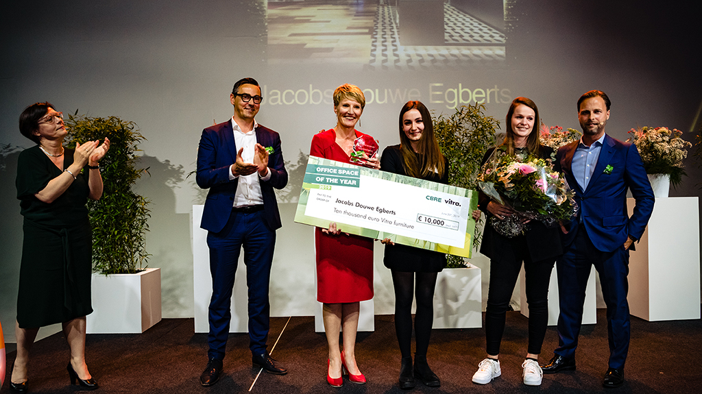 Jacobs Douwe Egberts Named Office Space Of The Year 2019 Cbre