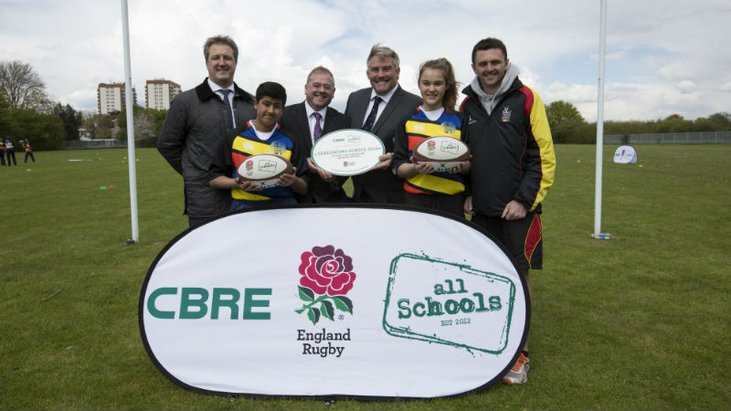 CBRE All Schools Rugby programme image 4