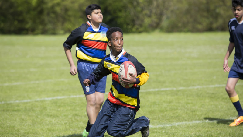CBRE All Schools Rugby programme image 3