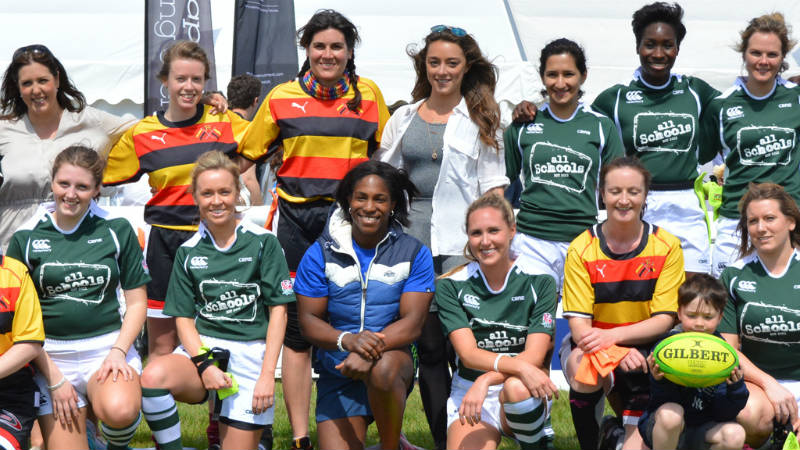 CBRE rugby diversity