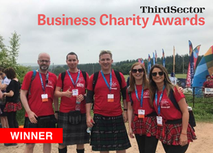 <strong>Business Charity Awards WINNER!</strong>
