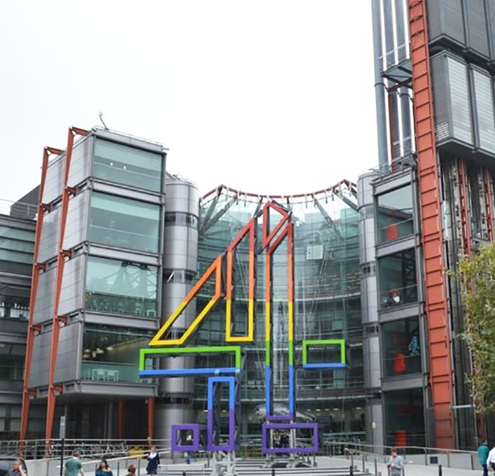 "Channel 4<br>Horseferry Road<br><font size=""3.5"">113,000 sq ft</font>"