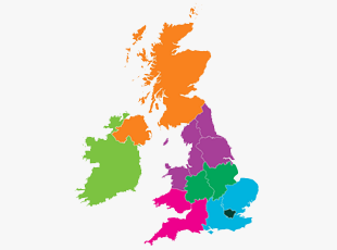 UK Investment Properties Contacts Map
