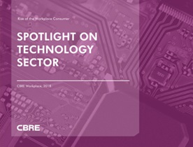 Technology Sector - CBRE Workplace's 'Rise of the Workplace Consumer'